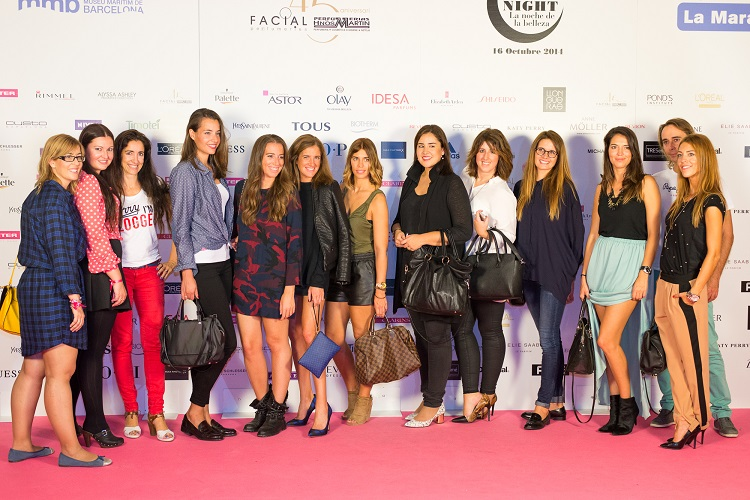 Fiesta 45 aniversario de Perfumeries Facial con las Beauty Bloggers Trends And Fashion 31