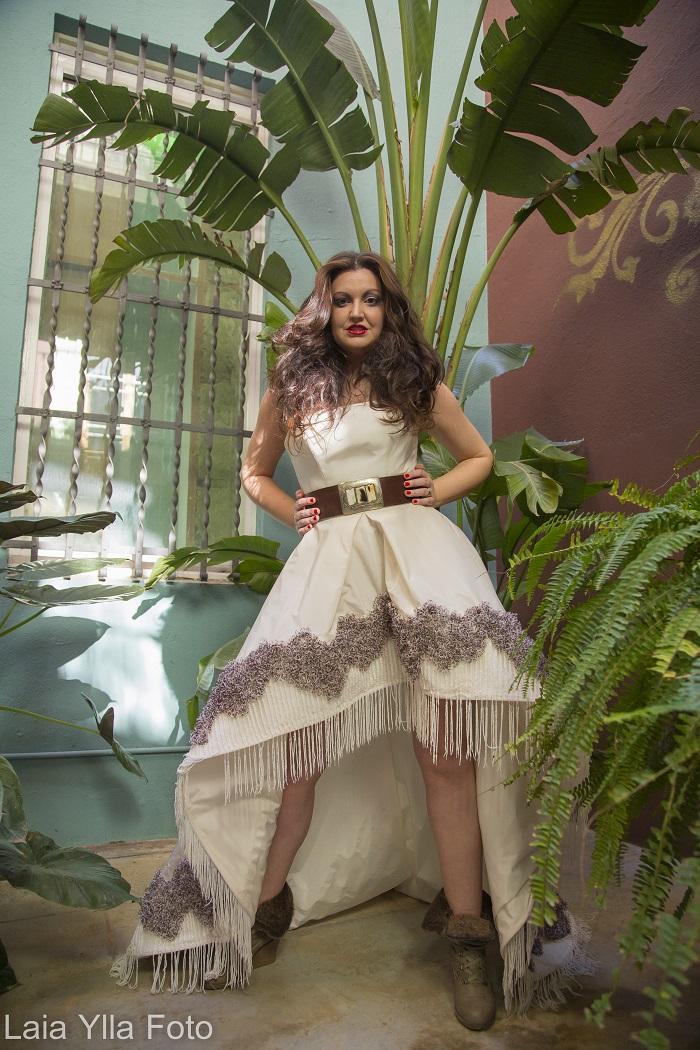Look étnico de la diseñadora Inmaculada García Trends And Fashion 3