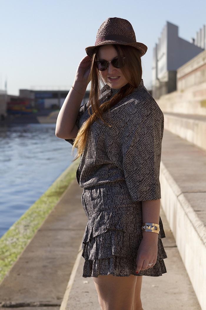 Look moda conjunto ColmStyle y zapatos de tacón de DKNY. Blog de moda. Trends And Fashion 2