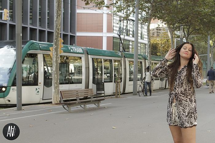 Look short lencero y blusón de Vila Clothes. Blog de Moda y Belleza. Trends And Fashion 2