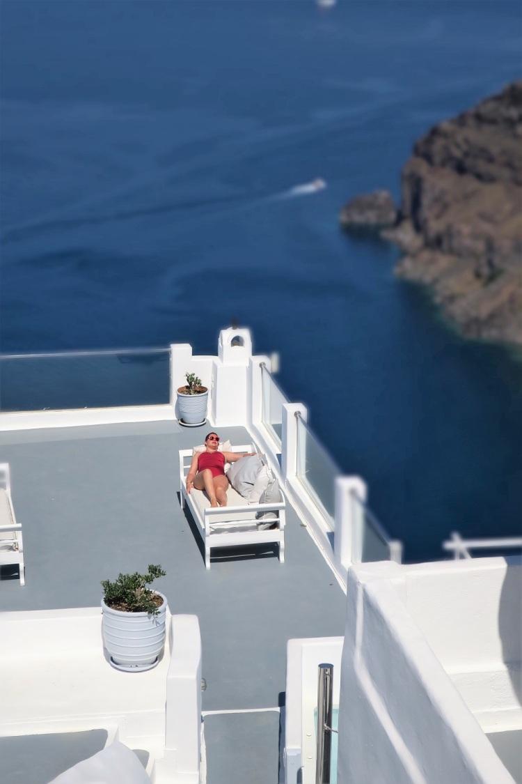 Viajar a Santorini con look Anne Weyburn de La Redoute en Rebajas 33