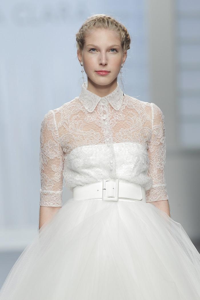 Presentación de la nueva colección de vestidos de novia de Rosa Clara en la Pasarela Gaudi Novias de la Barcelona Bridal Week Trends ANd Fashion 40