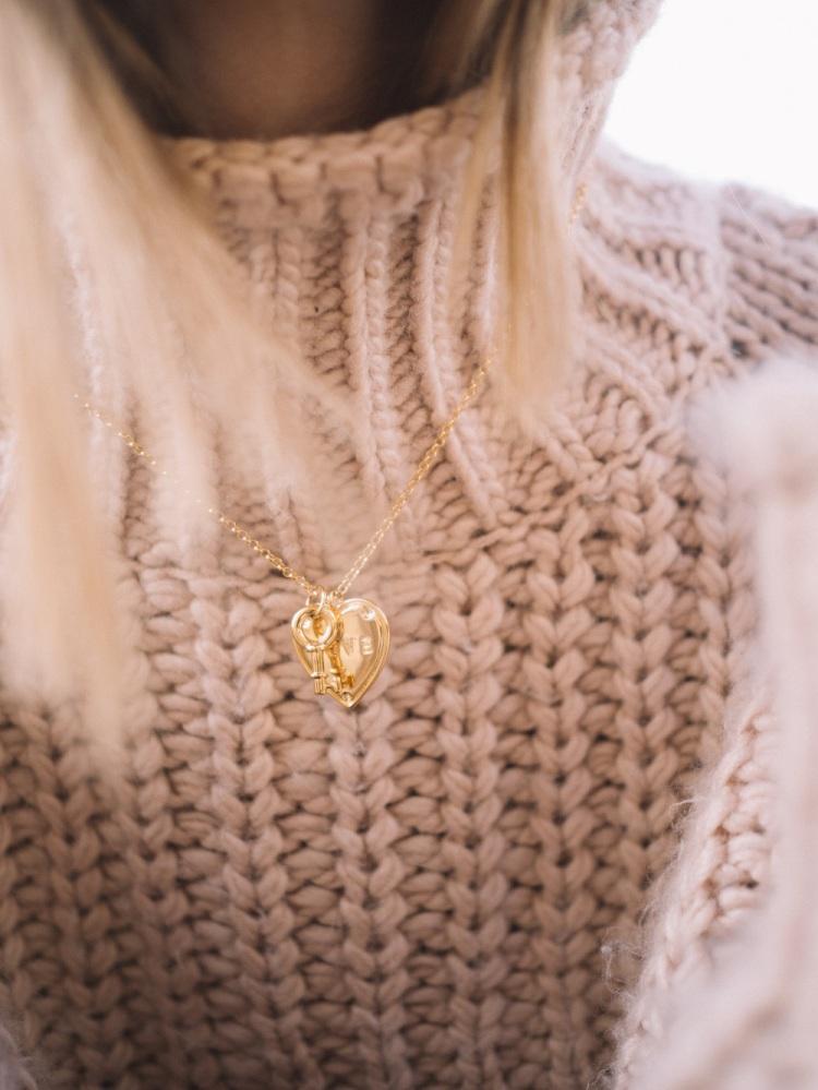 Valentina's Jewels_Heart Key Necklace
